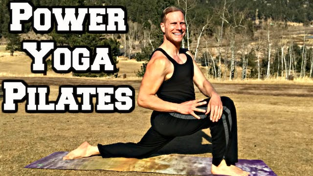 40 Min MONSTER Power Yoga + Pilates C...