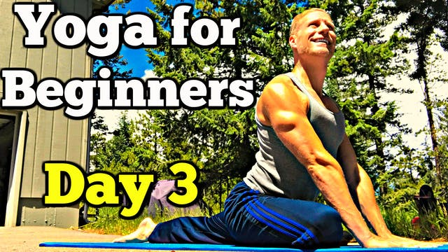 Day 3 Gentle Full Body Yoga Stretch -...