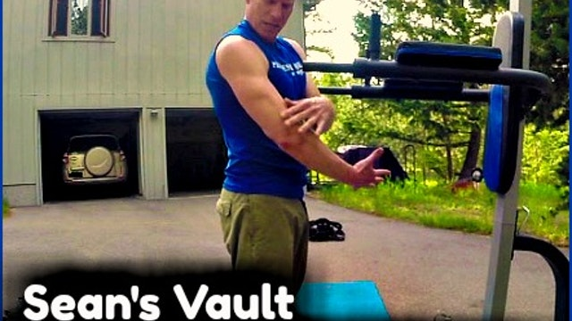 Vault: INTENSE Driveway Gym Workout