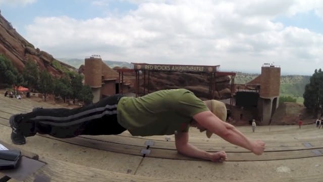 RED ROCKS Bodyweight Core Workout