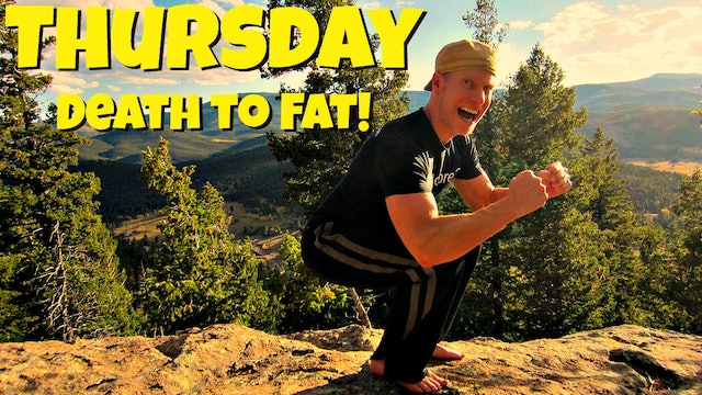 "Day 4 - ""Death to Fat"" Fat Burning Workout - 7 Day Fat Burning Challenge"