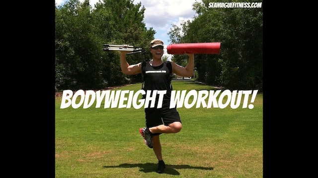 FAST Bodyweight Workout Routine