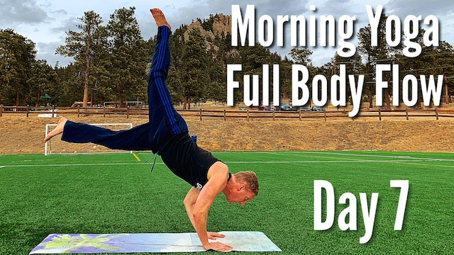Day 7 - FULL Body Flow - 7 Day Morning Yoga Challenge