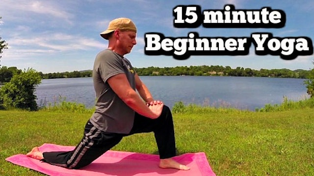 Simple 15 minute Yoga for Complete Beginners Routine