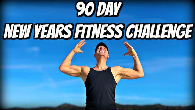 90 day New Years Fitness Challenge