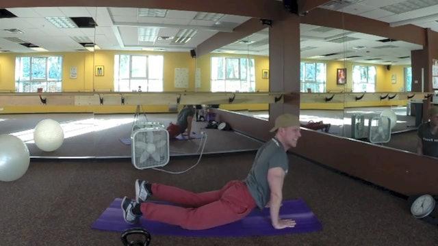SVF 365 - Day 10 - Full Body Dumbbell, Kettlebell & Bodyweight Workout