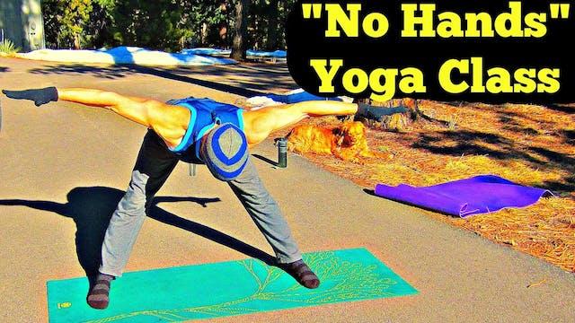 No Hands Yoga Routine - 20 minute flow
