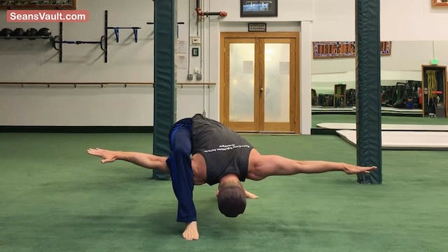 Airplane Warrior Push Ups Longer Sequ...