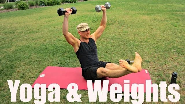 Yoga with Weights Workout