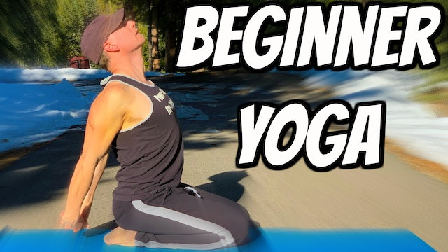 Beginner Stretch Yoga Class - 12 Day Fitness Challenge