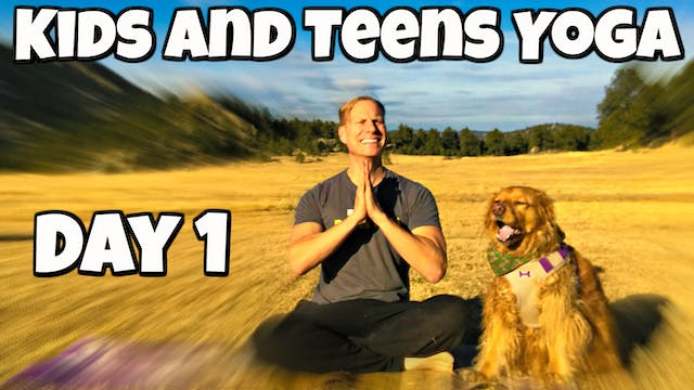Monday - Dogs and Pigeons Class - Yoga for Kids/Teens