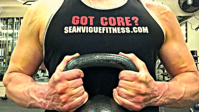 Sean's Gym Workout w/ BRUTAL Battle R...