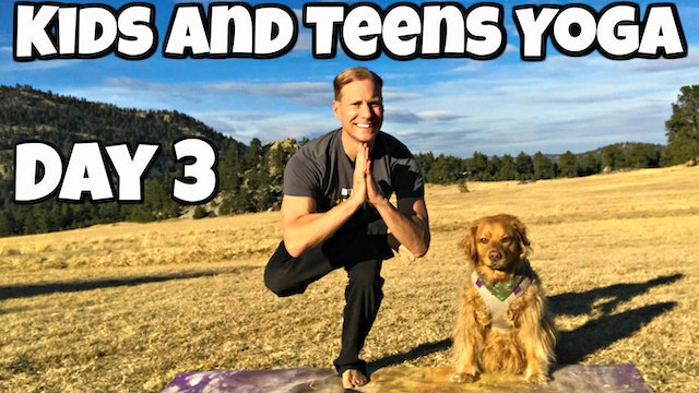 Wednesday - Warriors and Trees Class - Yoga for Kids/Teens