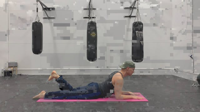 Pilates Single Leg Kicks