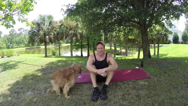35 Min Intermediate Yoga Class - Sean is 40!