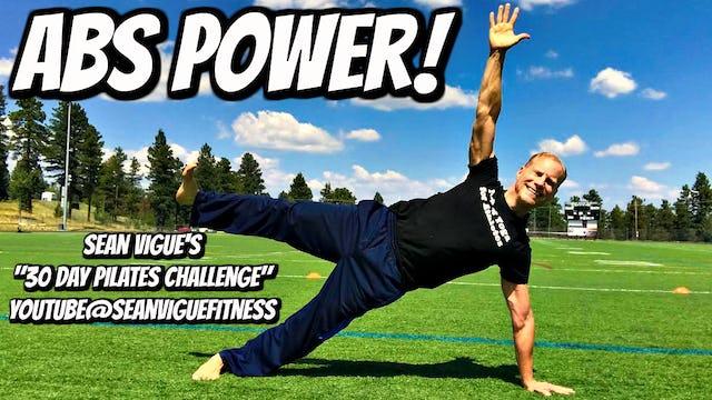 Strength and Power Pilates Workout Class