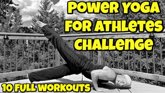 10 Day Power Yoga for Athletes Challenge