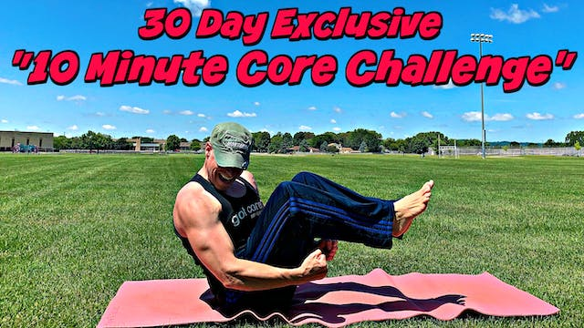 """30 Day """"10 Minute Core Challenge"""" All New Workouts!"""
