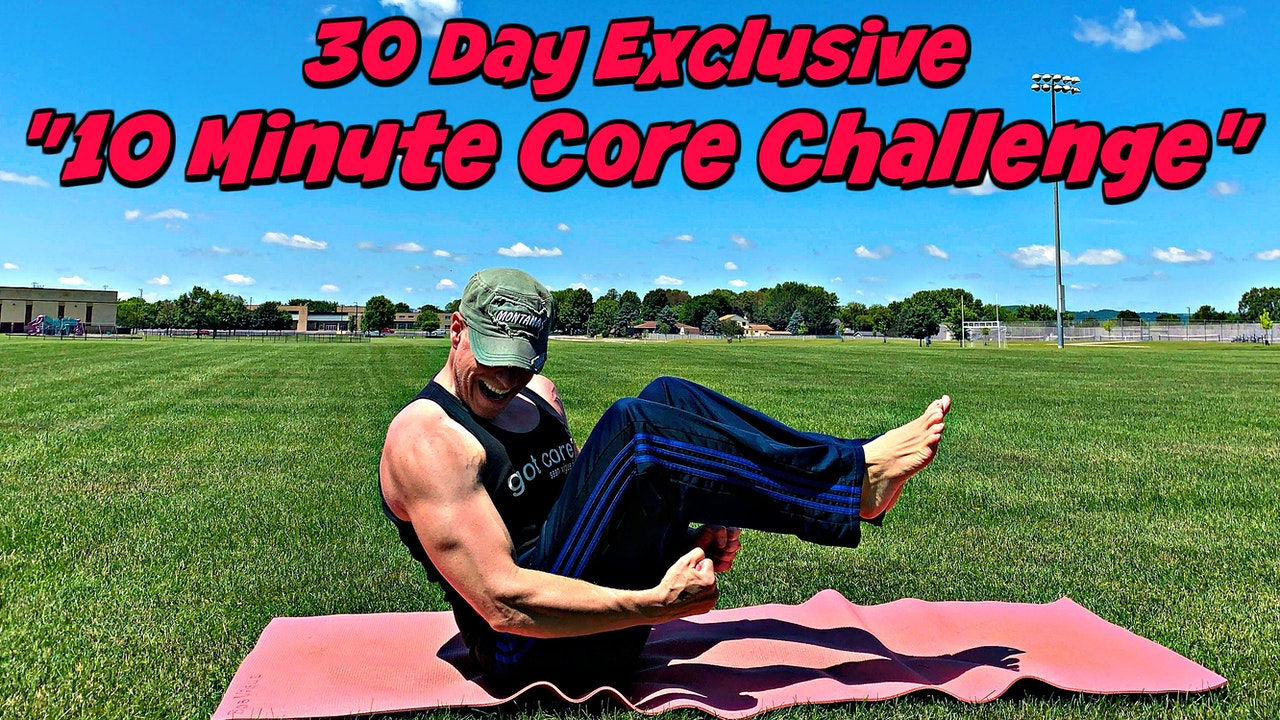"30 Day ""10 Minute Core Challenge"" All New Workouts!"