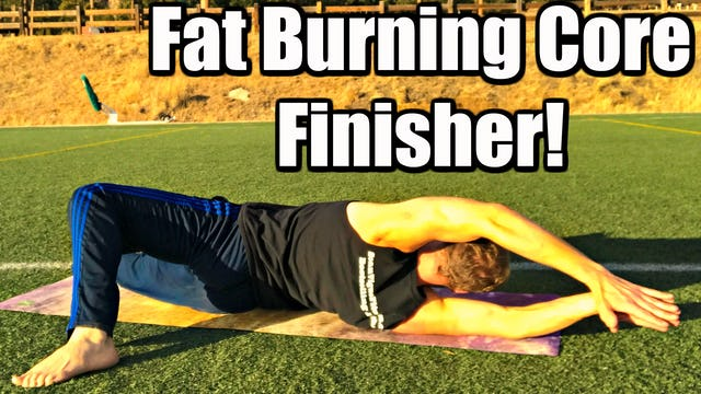 10 Min Cardio Core FINISHER Bodyweight Workout