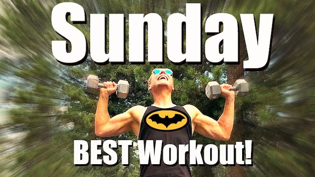 Sunday - Dynamic Total Body Strength Workout - 7 Day Fitness Challenge