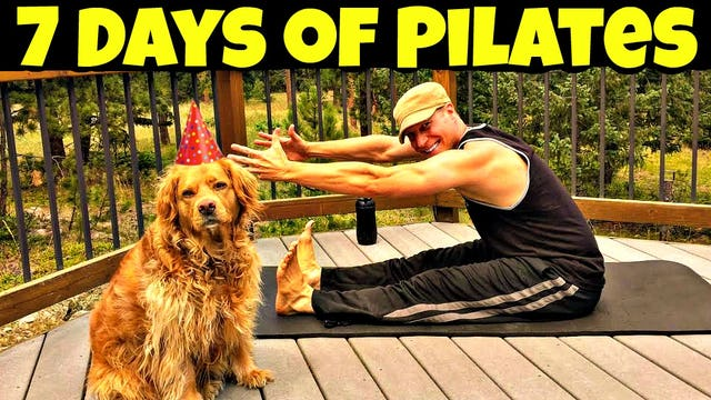 Sean Vigue's 7 Day Pilates Challenge