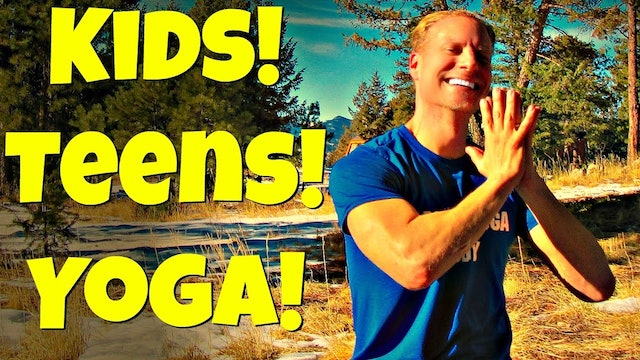 Beginner Yoga for Kids/Teens Class