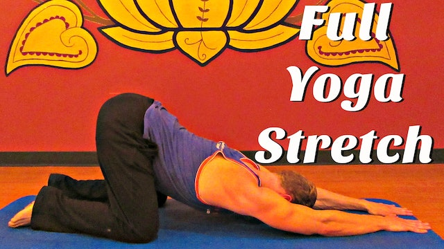 Day 3 - Full Yoga Stretch Flow - 7 Day Flexibility Challenge