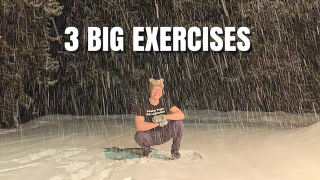 Pilates Abs - 3 Classic Exercises in a Blizzard
