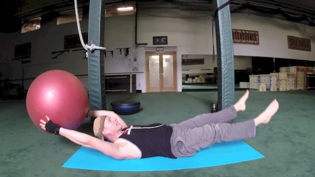 5 Great Exercises on the Stability Ball