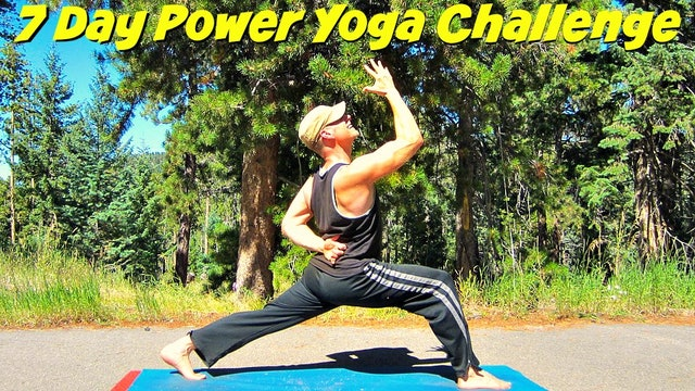 Sean Vigue's 7 Day Power Yoga Challenge