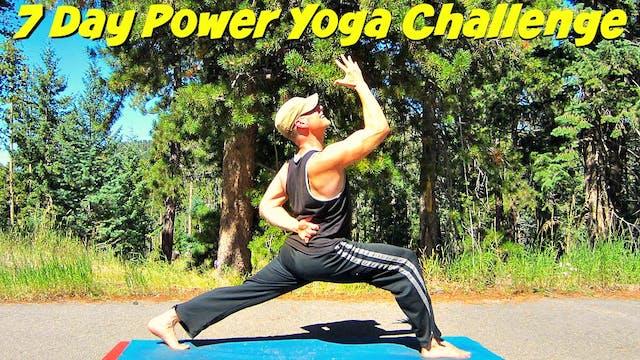 Sean Vigue's 7 Day Power Yoga Challenge