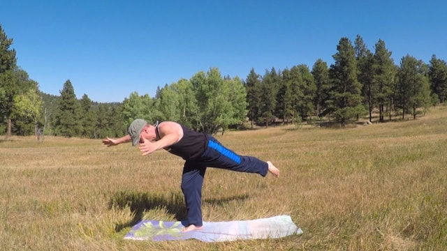 Moon Warrior Yoga Flow
