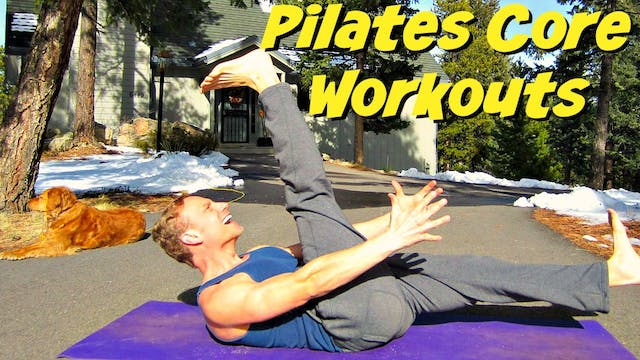 Comprehensive Pilates and Core Workout Classes (53 in total)