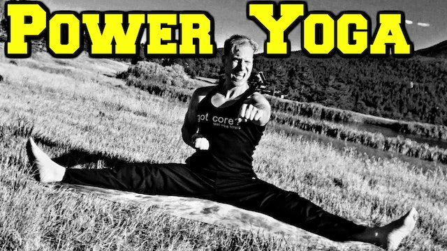 Ninja Power Yoga Workout - part 1 of 3