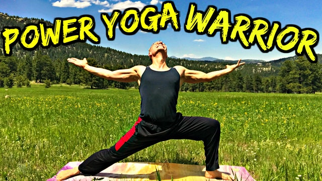 Power Yoga Conditioning Warrior Training Flow