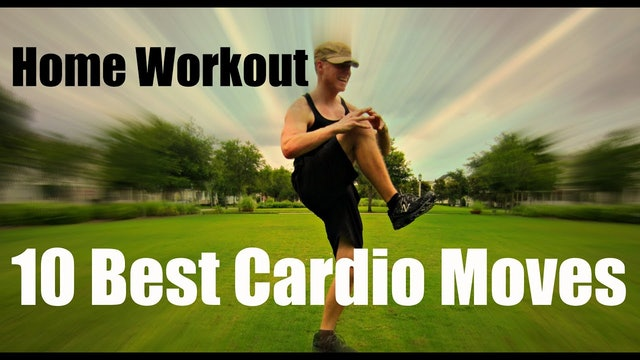 10 BEST Home Cardio Exercises for Weight Loss