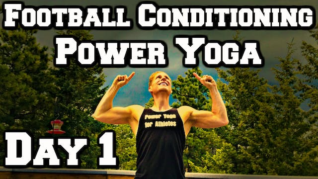 Day 1 - Eagle Warrior Yoga - Power Yo...