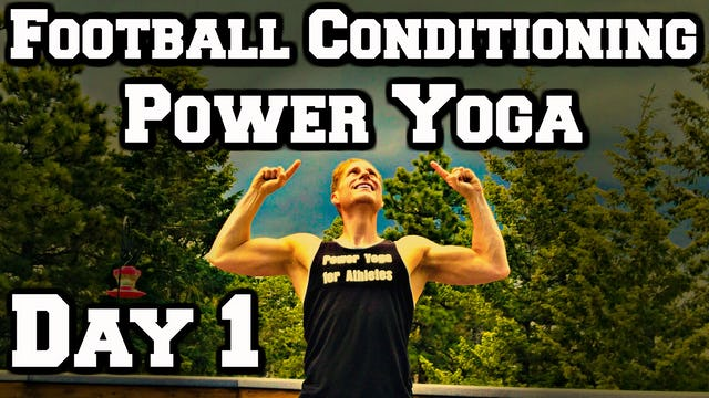 Day 1 - Eagle Warrior Yoga - Power Yoga Challenge