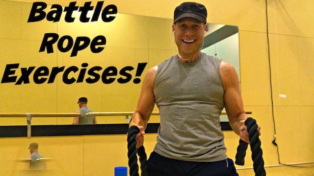 5 Killer Battle Rope Exercises!