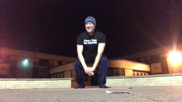 Late Night Push Ups in Wisconsin