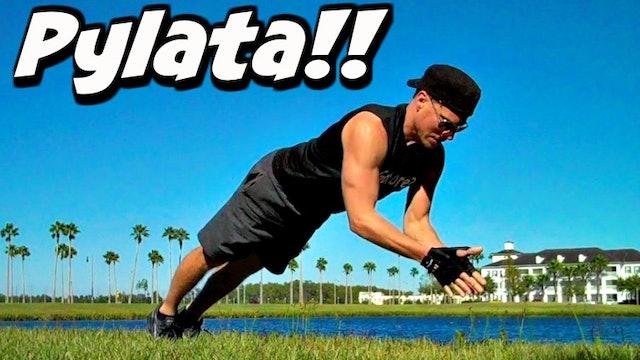 Sean's ORIGINAL 'Pylata' DVD 4 part Total Training Gym