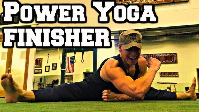 Ninja Power Yoga FINISHER Workout - part 2 of 3