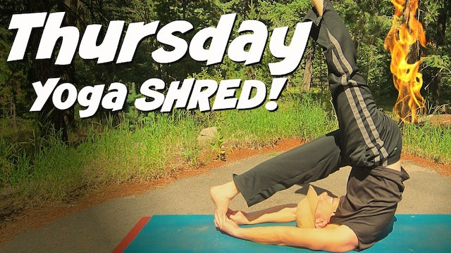 Day 4 - Full Body Yoga SHRED - 7 Day Power Yoga Challenge
