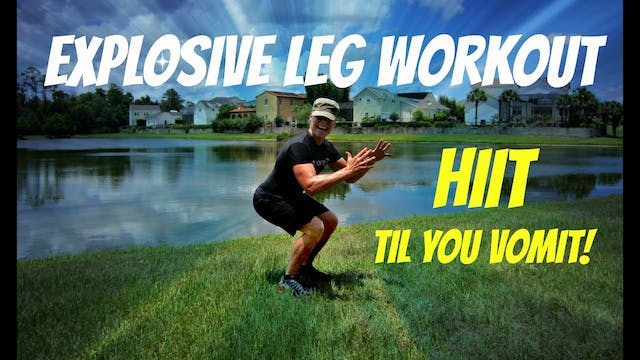 KILLER Leg Workout - Plyo Lower Body ...