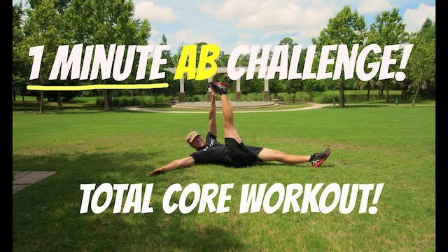The 1 Minute Core Workout Challenge