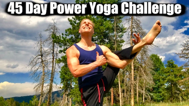 45 Day Power Yoga Conditioning Challenge