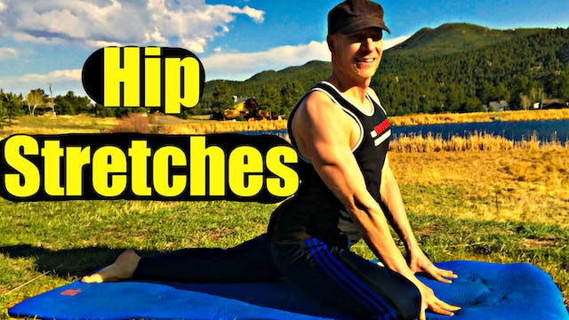 DEEP Hip Stretch and Twist Flexibility Routine - Yoga Stretches for Low Back Pain