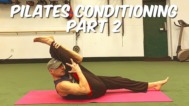 Vault: NEW YEAR Total Pilates Conditioning Class - part 2 of 2