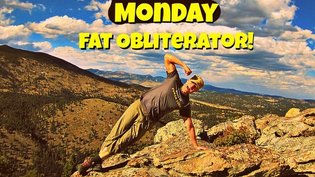 Day 1 - Calorie Obliterating Fat Burning Workout - 7 Day Fat Burning Challenge